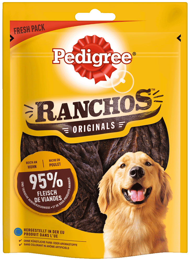 PEDIGREE RANCHOS mit Huhn 70g