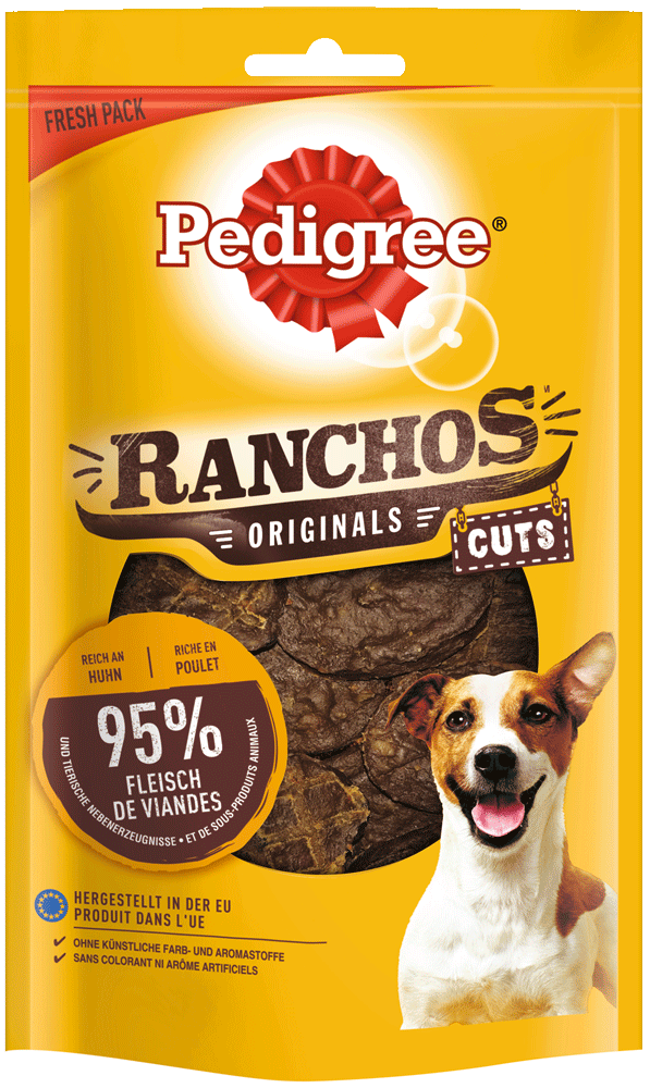 PEDIGREE RANCHOS 65g Huhn