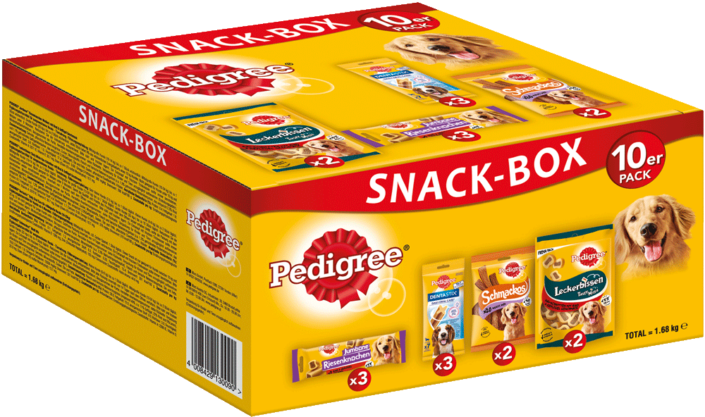 PEDIGREE Snackbox 10 VBE