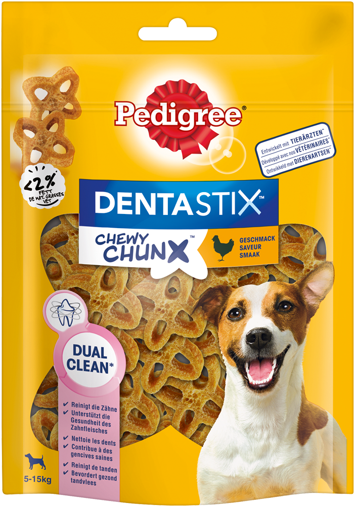 PEDIGREE DENTASTIX Chewy Chunx Mini mit Huhn 68g
