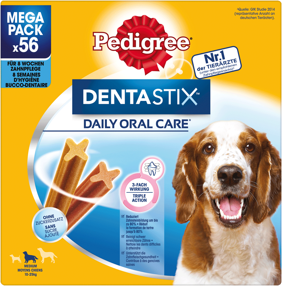 Dentastix Daily Oral Care Multipack für mittelgroße Hunde