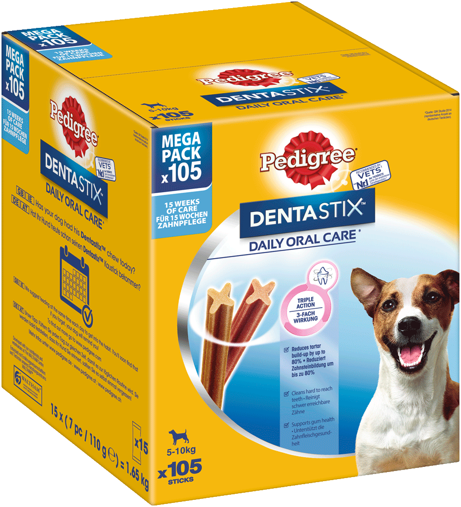 PEDIGREE DENTASTIX Mulitpack Small 15 x 7 Stück