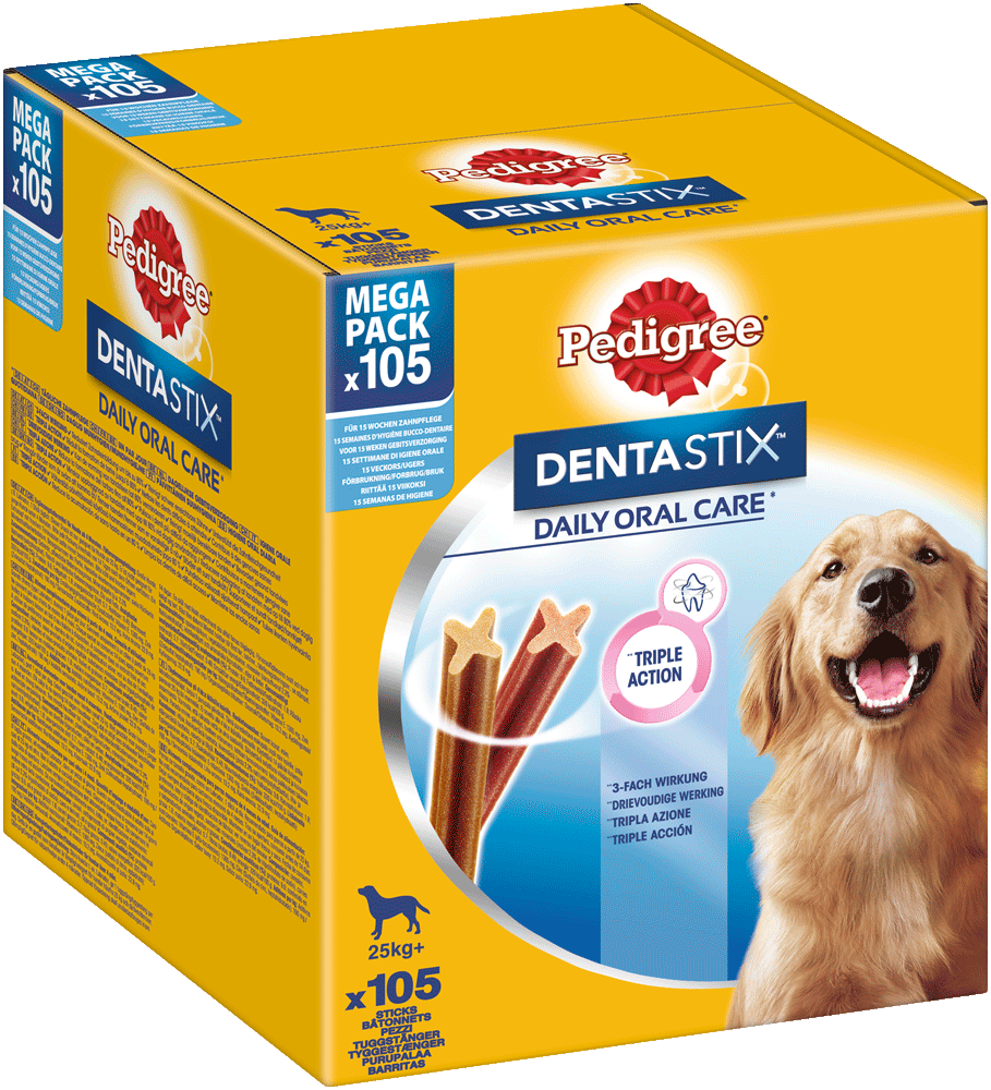 PEDIGREE DENTASTIX Mulitpack Large 15 x 7 Stück